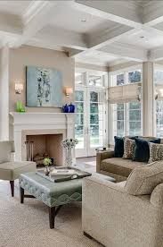 What Is A Coffered Ceiling by White Kitchen Coffered Ceiling In Family Room Dream Home