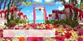 wedding flowers oahu hawaii weddings affordable hawaiian wedding packages
