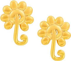gold earrings online gold earrings buy gold earrings online at best prices in india