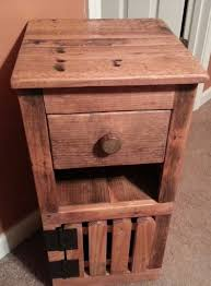 bedroom furniture stylish reclaimed wood nightstand reclaimed