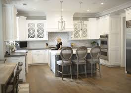 white kitchen cabinets with oak floors neutral home with inspiring white gray interiors home