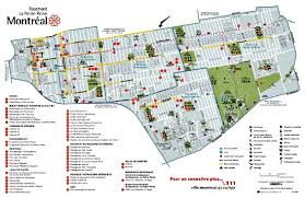 la salle cus map boroughs maps