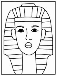 how to draw king tut art projects for kids