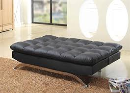 Plush Sofa Bed Milton Greens Stars Lugo Plush Futon Sofa Bed Black Http Www