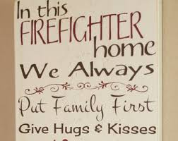 Firefighter Home Decorations What Does A Firefighter Make Firefighter Decor Distressed