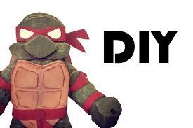 diy ninja turtle craft cardboard toy tutorial youtube