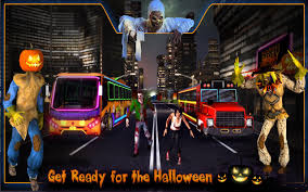 video halloween party halloween party bus driver 3d android apps on google play