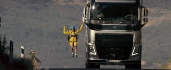 volvo trucks volvo trucks pulls another publicity stunt van damme nowhere to