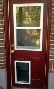 doggie door in glass door dog and cat door installation