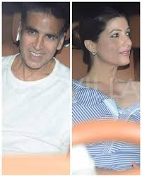 photos akshay kumar and twinkle khanna attend karan johar u0027s