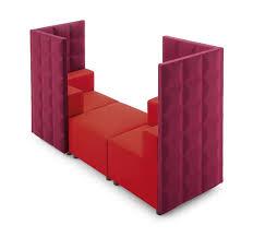 High Backed Armchairs Modular High Backed Armchair For Waiting Room Idfdesign
