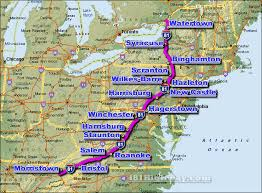 map us hwy i 81 interstate 81 road maps traffic news