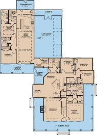 floor plans with inlaw apartment wrap around porch and in apartment 70524mk architectural