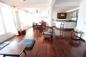french colonial 3 bedroom apartment for rent on riverside phnom