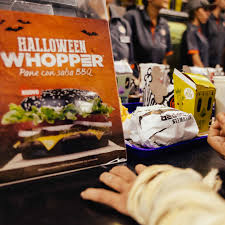 bk halloween whopper burger king engagement is the new black