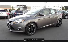 2013 Ford Focus Interior Dimensions 2013 Ford Focus Titanium News Reviews Msrp Ratings With
