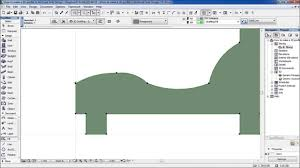 Sofa Design How To Make A 3d Profile In Archicad Sofa Design Youtube