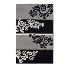 linon home decor rugs linon home decor black area rugs rugs the home depot