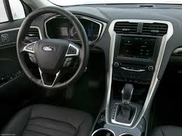 Ford Fusion Interior Pictures Ford Fusion Hybrid 2013 Pictures Information U0026 Specs