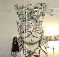best 25 sharpie wall ideas on pinterest wall drawing skiline