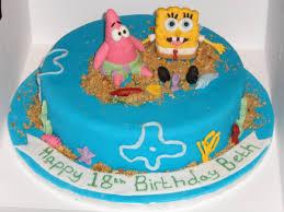 spongebob birthday cakes spongebob birthday cakes for boys c bertha fashion