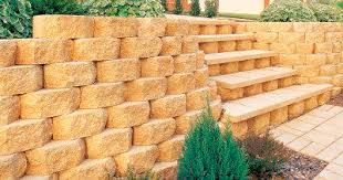 solid concrete block for retaining walls gardenwall