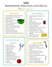 100 montessori practical life skills mama u0027s happy hive