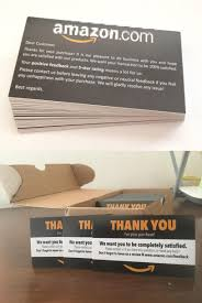 does the style and copy of these product insert cards tos