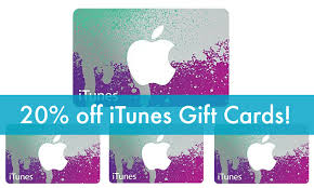 best deals on gift cards cyber monday itunes gift card deals sale 20