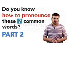 pronunciation learn pronunciation of words how to speak english learning