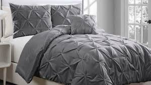 Jersey Cotton Comforter Bedroom Silver Grey Bedding Sets Twin Full Queen King Size Cotton
