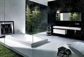 design badezimmer inspirationen für schwarz weißes bad design