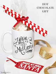 hot chocolate gift happy holidays hot chocolate gift for top clients