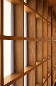 architecture interior design wooden partitions walls