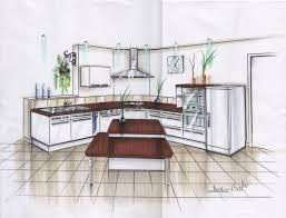 cuisine en perspective perspective de cuisine notre maison à montfaucon montigné 49
