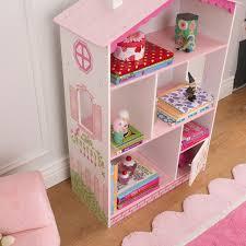 Doll House Bookcase Kidkraft Dollhouse Cottage Bookcase Walmart Com