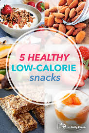 low calorie snacks that will fill you up