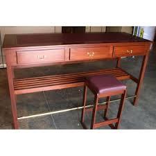 Computer Desk Mahogany Computer Standing Desk
