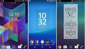 widget android top 7 best clock widget for android 2017