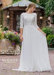 modest wedding dresses tr11839 mon cheri bridals