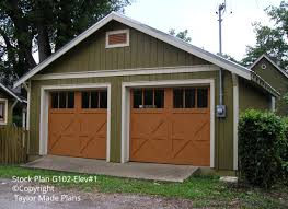 Size 2 Car Garage by Portfolio Archive Taylor Made Plans