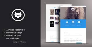 10 beautiful one page responsive templates blog website