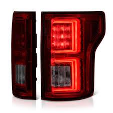 fiber optic tail lights fiber optic oled tube rosso burgundy led tail lights vipmotoz