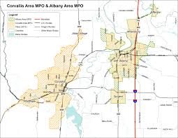 Map Of Corvallis Oregon by Aampo Maps And Data Ocwcog