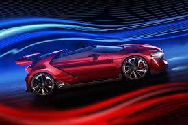 volkswagen sports car volkswagen reveals full scale vision gt car wörthersee festival