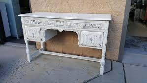 Shabby Chic Vanity Table Handpainted Furniture