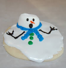 i u0027m melting snowman cookies allfreeholidaycrafts com