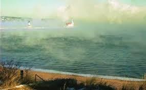 lake superior sea smoke lake superior region blog