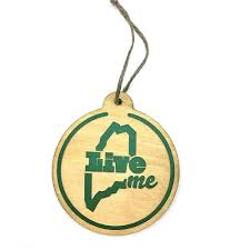 skime wooden ornament liveme