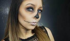Halloween Skull Makeup Tutorial E1 Easy Halloween Skull Makeup Tutorial Youtube